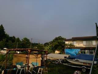 20130829 西の空