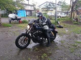 20130830 雨の往路