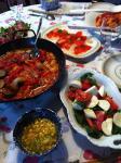 gwm家でトマト夕食