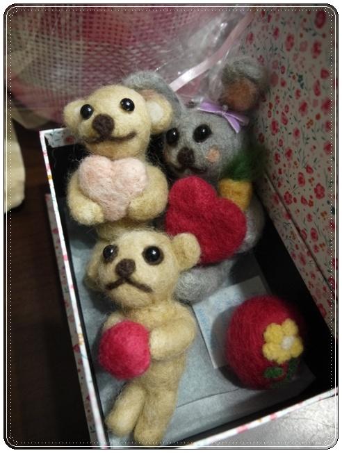 羊毛ちゃんのプレゼント
