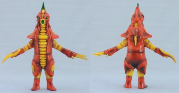 赤色甲殻人 ジャバラ:前後