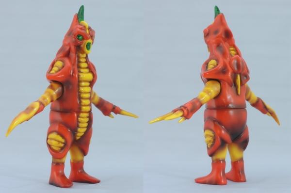 赤色甲殻人 ジャバラ:右斜め前、左斜め後ろ
