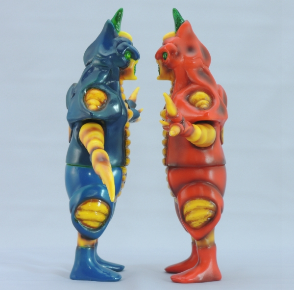赤色甲殻人と青色甲殻人ジャバラ:2