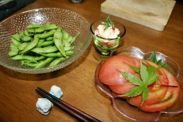 枝豆トマト