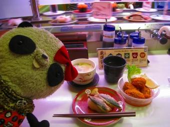 はま寿司で牡蠣フライ