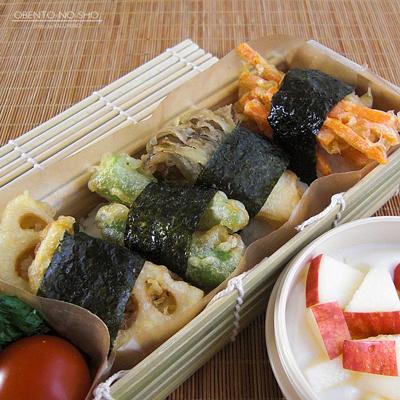 野菜天むす弁当02