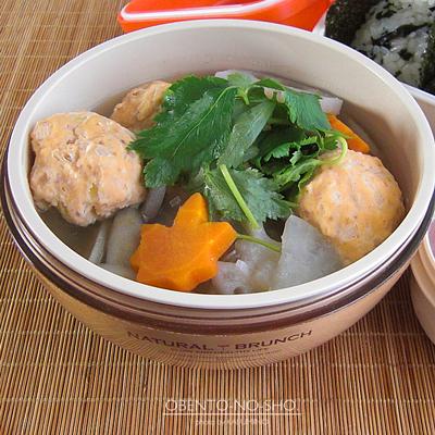 秋鮭つくねの根菜汁弁当02