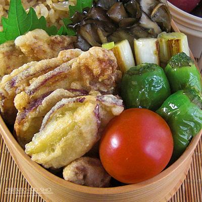 豚とさつま芋のつまみ揚げ弁当02