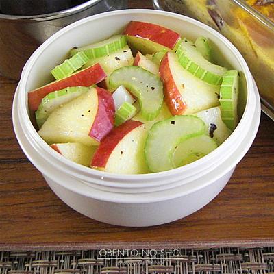 秋野菜の豆乳キッシュ弁当03