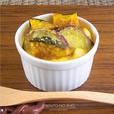秋野菜の豆乳キッシュ弁当05