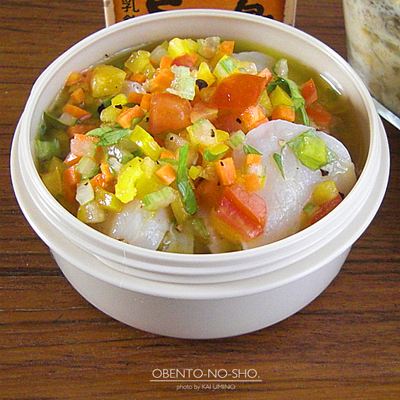 茸と白菜の豆乳キッシュ風弁当03