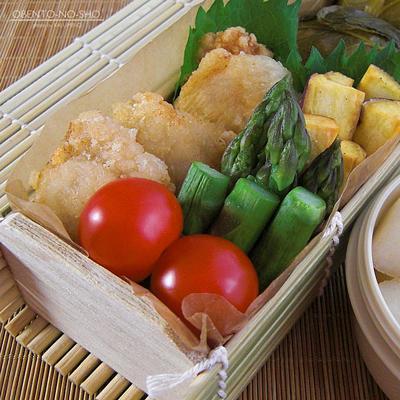鶏の梅酢揚げ弁当03