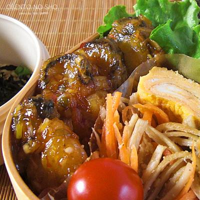 牡蛎の甘辛炒め弁当02