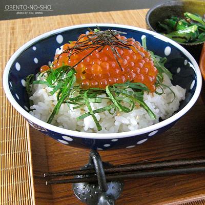 いくら丼2014*おウチご飯02