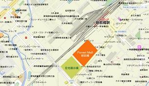 フォレストモール新前橋地図