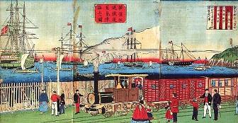 開業当時の横浜