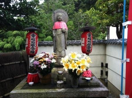 鈴虫寺地蔵2