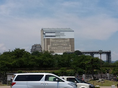 姫路城 天空の白鷺 (29)