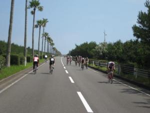 宮崎シーガイアトライアスロン2012バイクコース