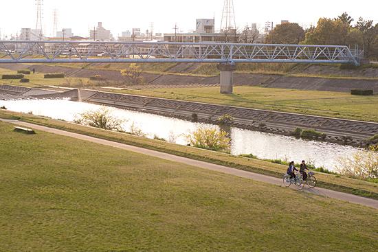 川の風景-1