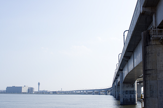 名鉄空港線の高架