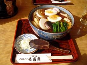 日本五目蕎麦