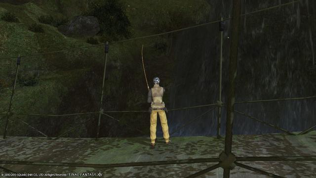 釣りしてたり
