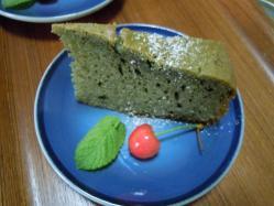 25 6 よもぎケーキ