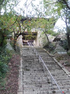 生石神社山門2