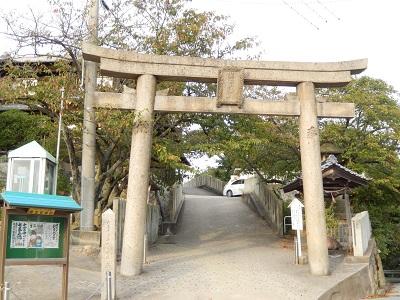 生石神社鳥居