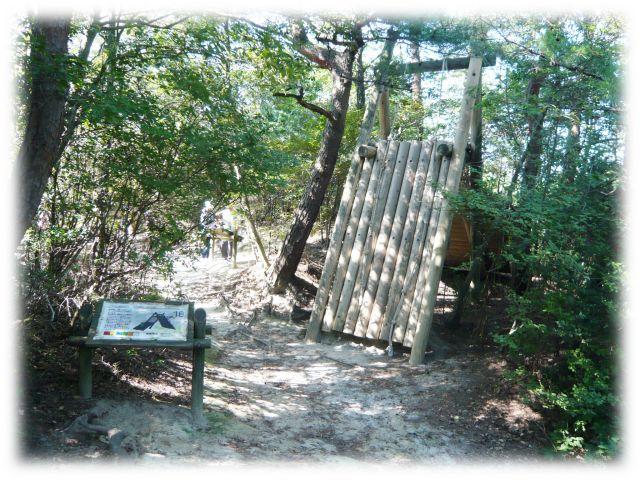 生駒山麓公園 フィールドアスレチック