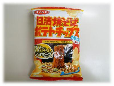 コイケヤ 日清焼そば ポテトチップス Wからしマヨネーズ風味