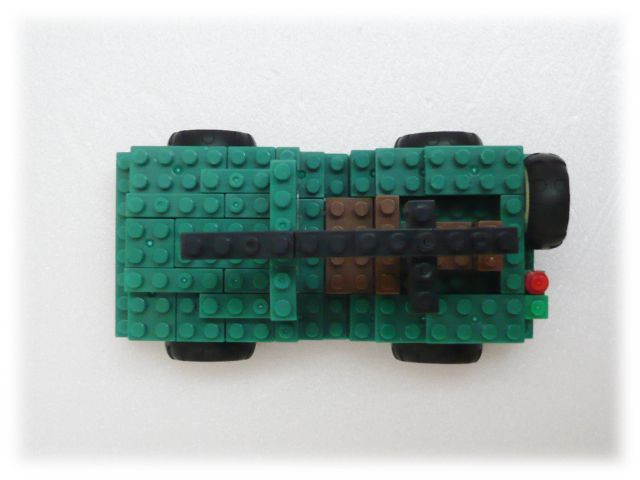 nanoblock×LaQ/ウィルスMBジープ