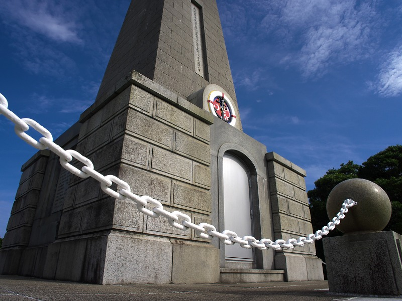 紀伊大島 トルコ軍艦遭難慰霊碑