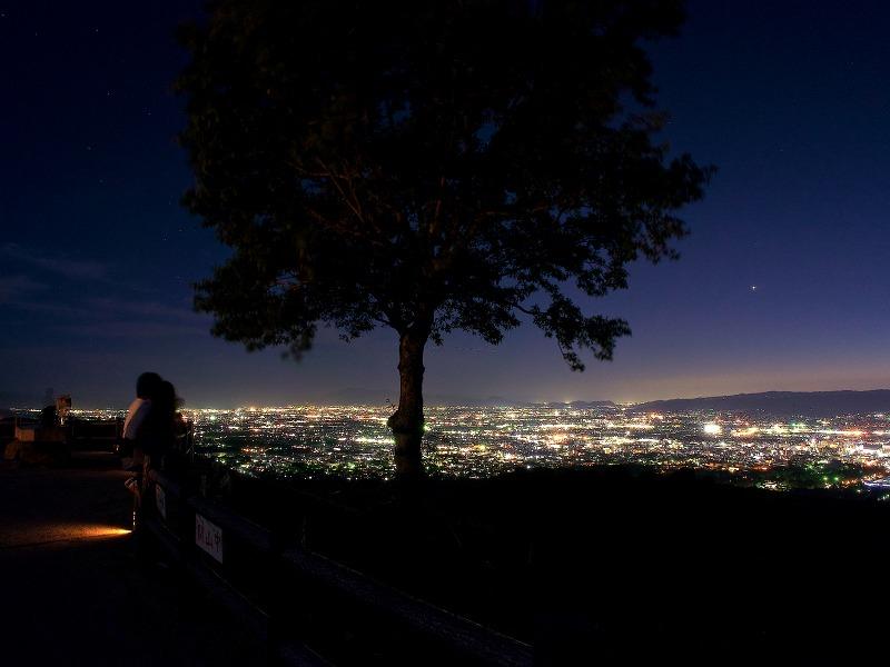 若草山 マジックアワー・夕景・夜景