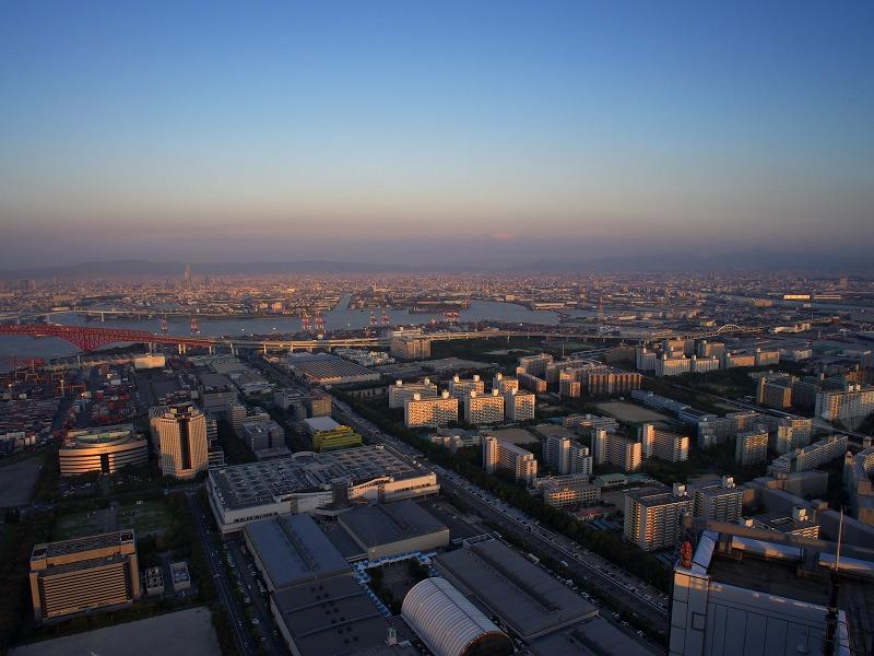 大阪府咲洲庁舎 展望台 景色