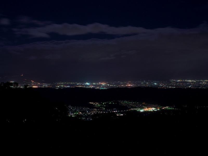 信貴生駒スカイライン 台風一過 マジックアワー 夕景 夜景
