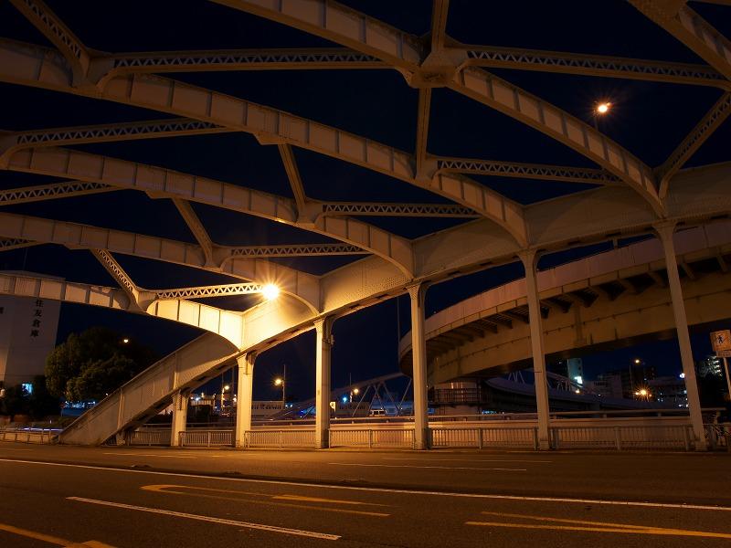 中之島西 昭和橋 夜景