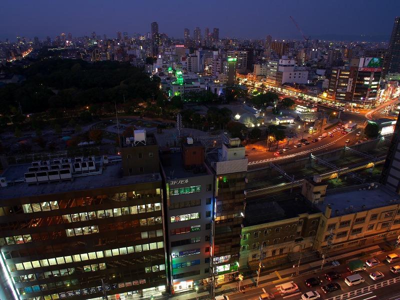 あべのルシアス 夕景 夜景