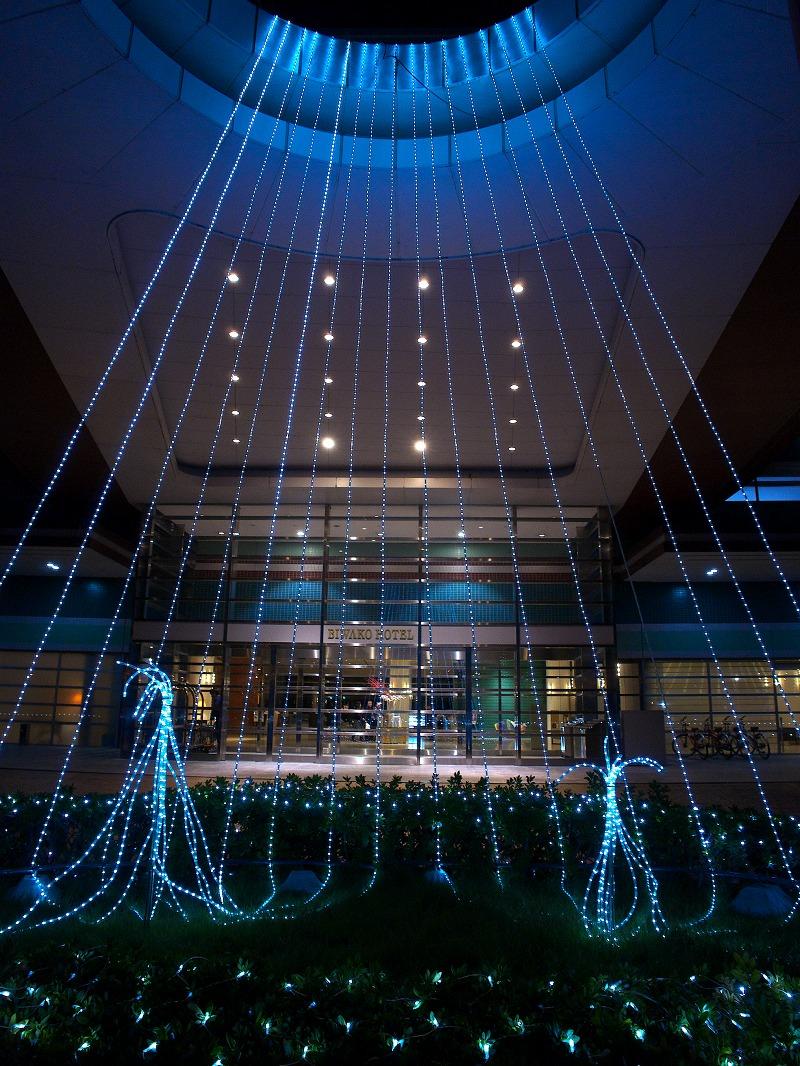 琵琶湖ホテル イルミネーション