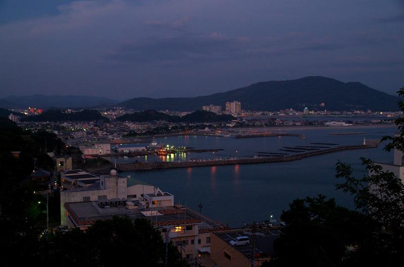 章魚頭姿山展望台からの眺望 夜景
