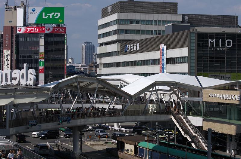 鮨屋萬助・阿倍野歩道橋