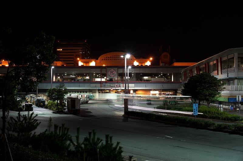 中之島西 大阪市中央卸売市場前港 夜景