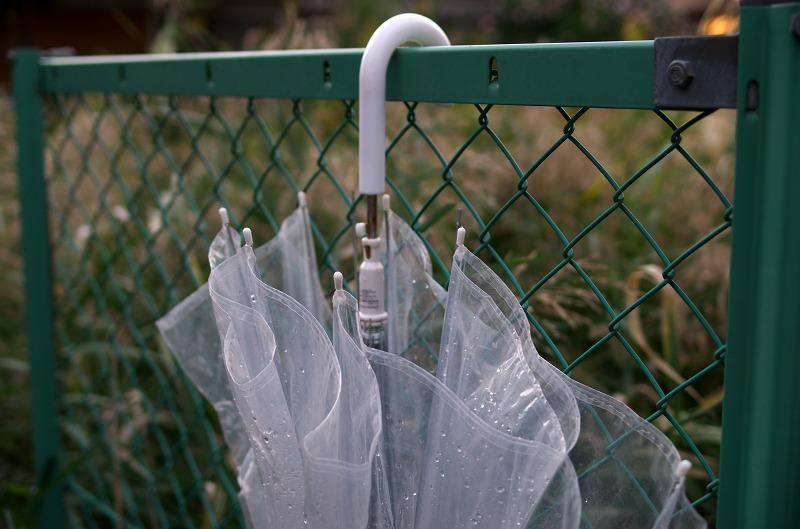 ビニール傘 透明