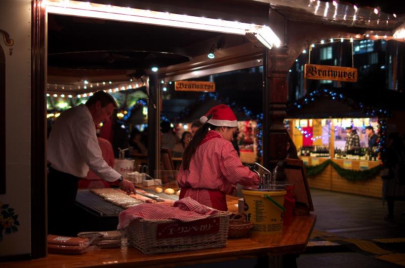 ドイツ・クリスマスマーケット大阪2013