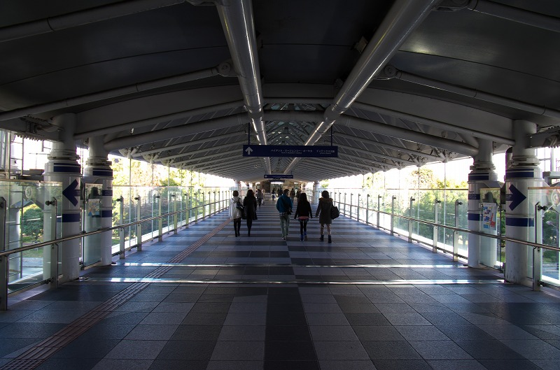 大阪南港 ATC WTC 連絡橋