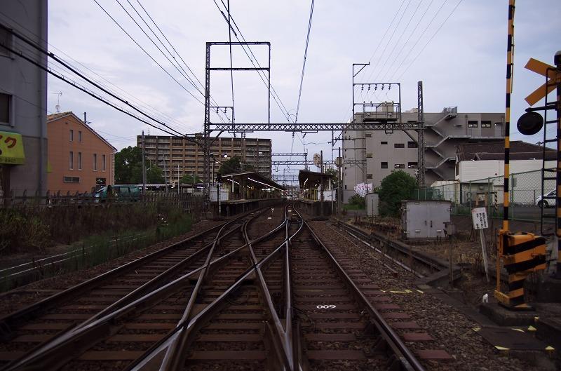 富田林駅 踏切