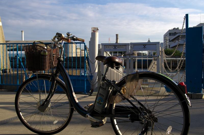 大阪市渡船 自転車