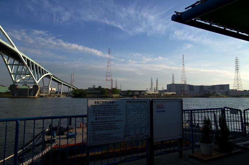 木津川渡船場
