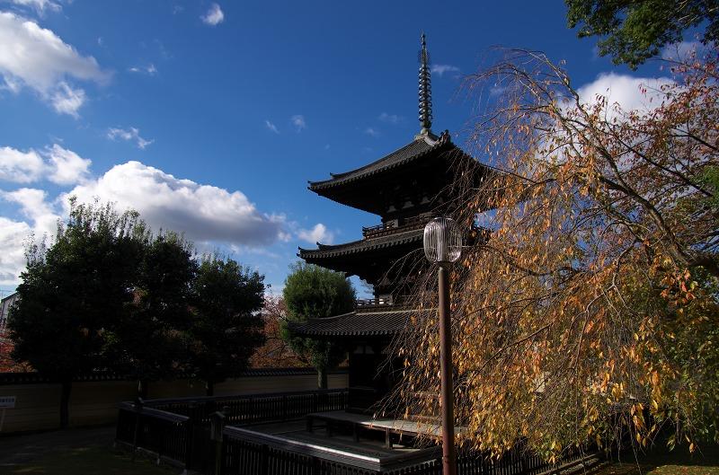 奈良公園 三重の塔